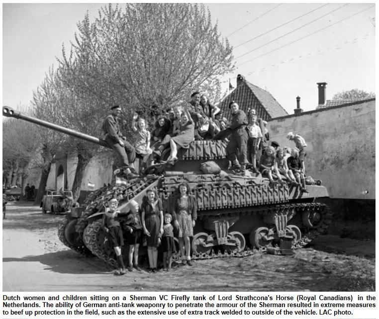 Strathcona tank in NL